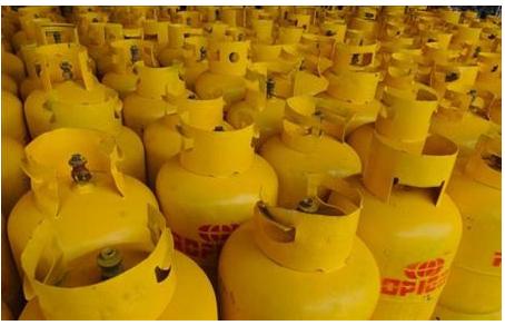 Suben los precios de los cilindros de Gas Licuado de Petróleo para el mes de enero de 2021