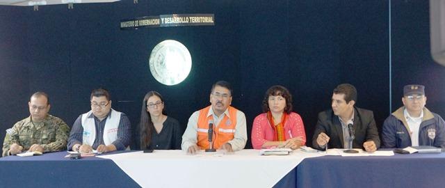 Director General de Protección Civil mantiene la vigencia de la ALERTA AMARILLA