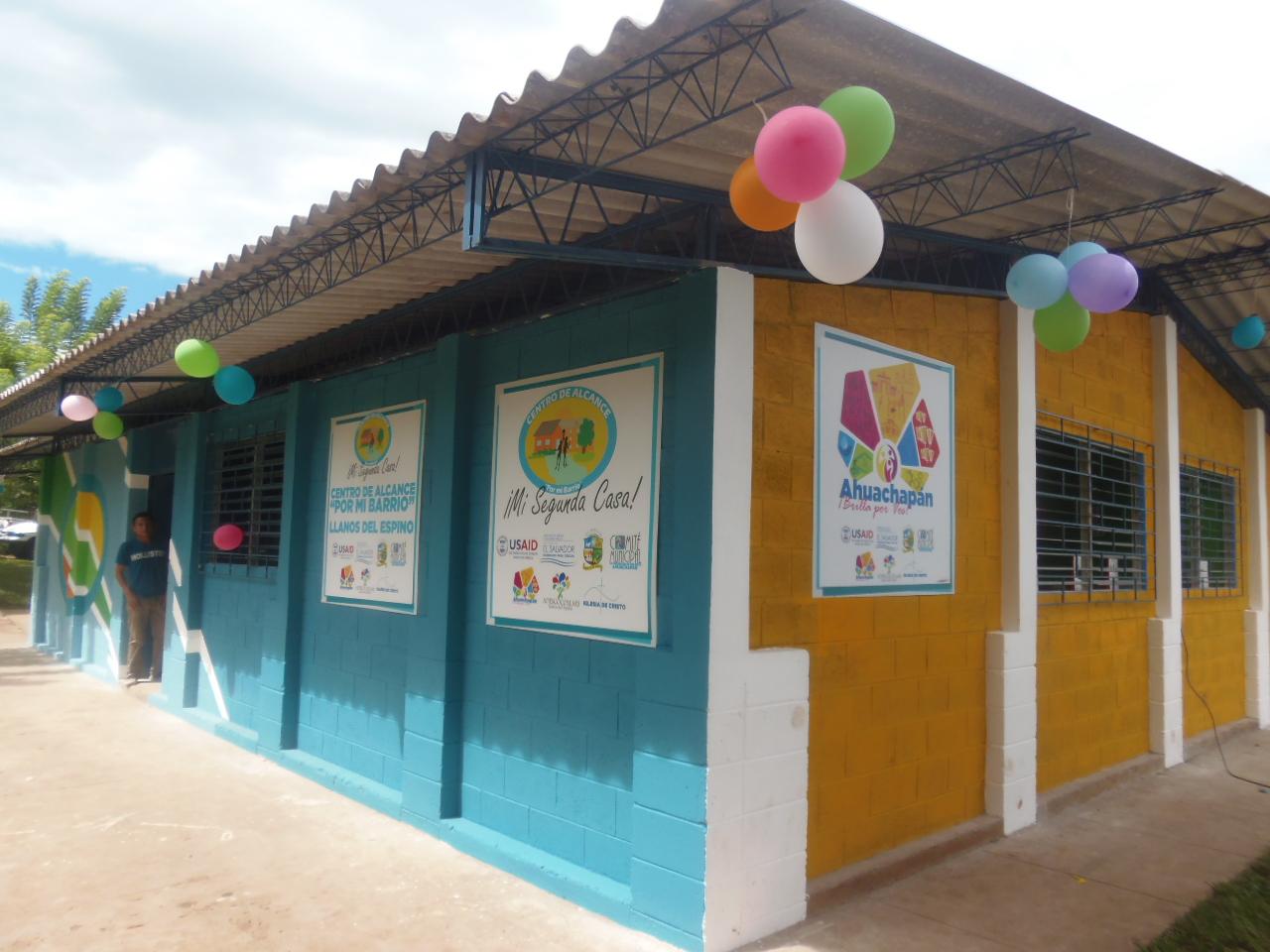 Cinco centros de prevención a la violencia en  Ahuachapán fueron inaugurados