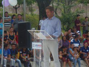 Líder del equipo de seguridad ciudadana de USAID/El Salvador, Robert Mckenny;