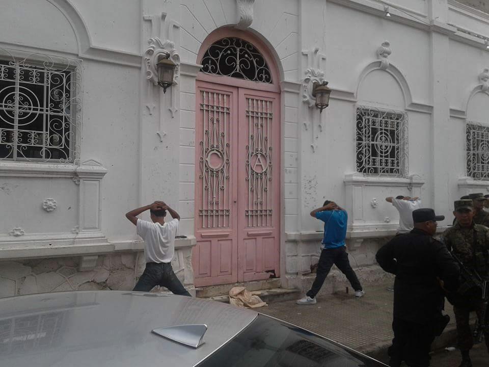 Presencia policial en las fiestas cívicas del 195  aniversario de independencia en el territorio salvadoreño