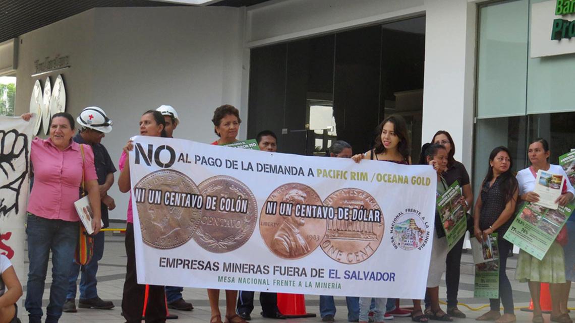 El Salvador gana litigio contra minera