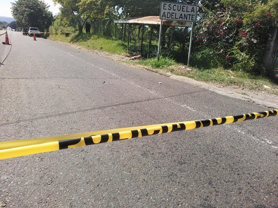 Homicidio en el caserío Cruz Verde de Atiquizaya