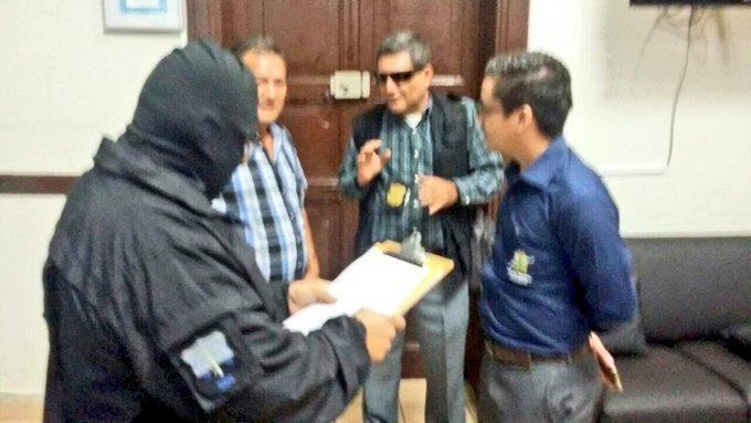 Fiscalia allana alcaldia de Ahuachapan