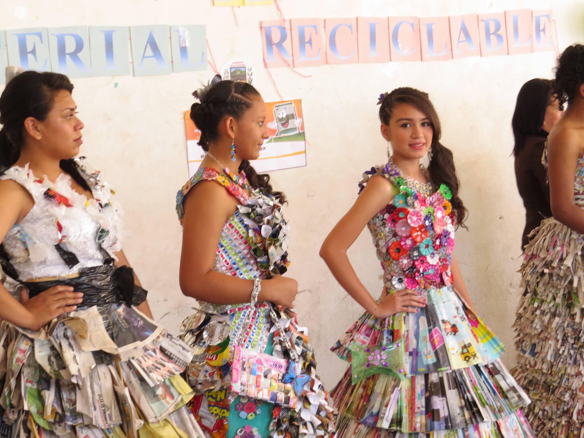 Jóvenes del municipio de Candelaria demuestran su creatividad a través del reciclaje