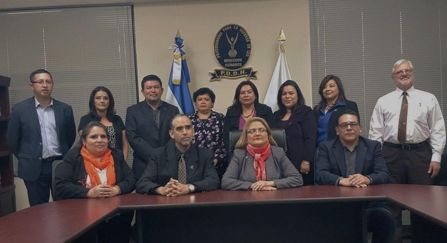 Procuradora presenta a su equipo de trabajo en áreas temáticas de defensa de los derechos humanos