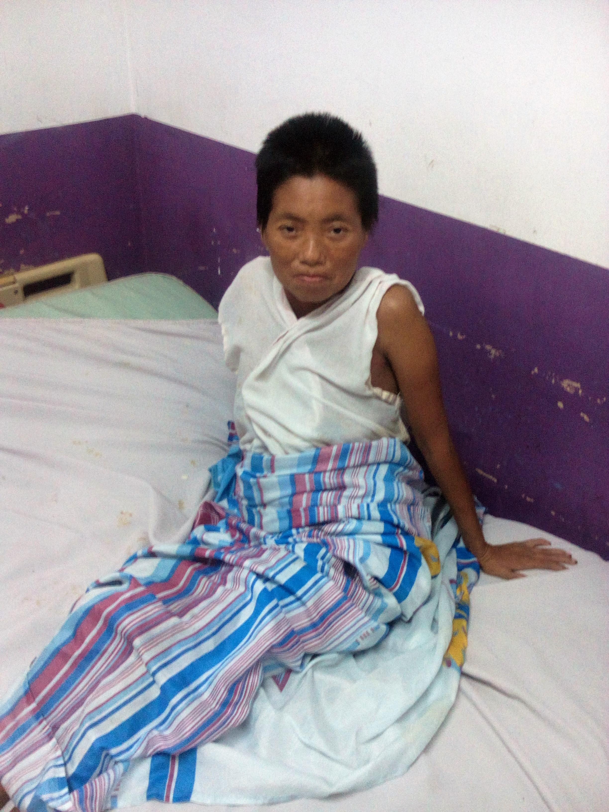 """Paciente Metapaneca está abandonado en Hospital Nacional """"Arturo Morales"""""""