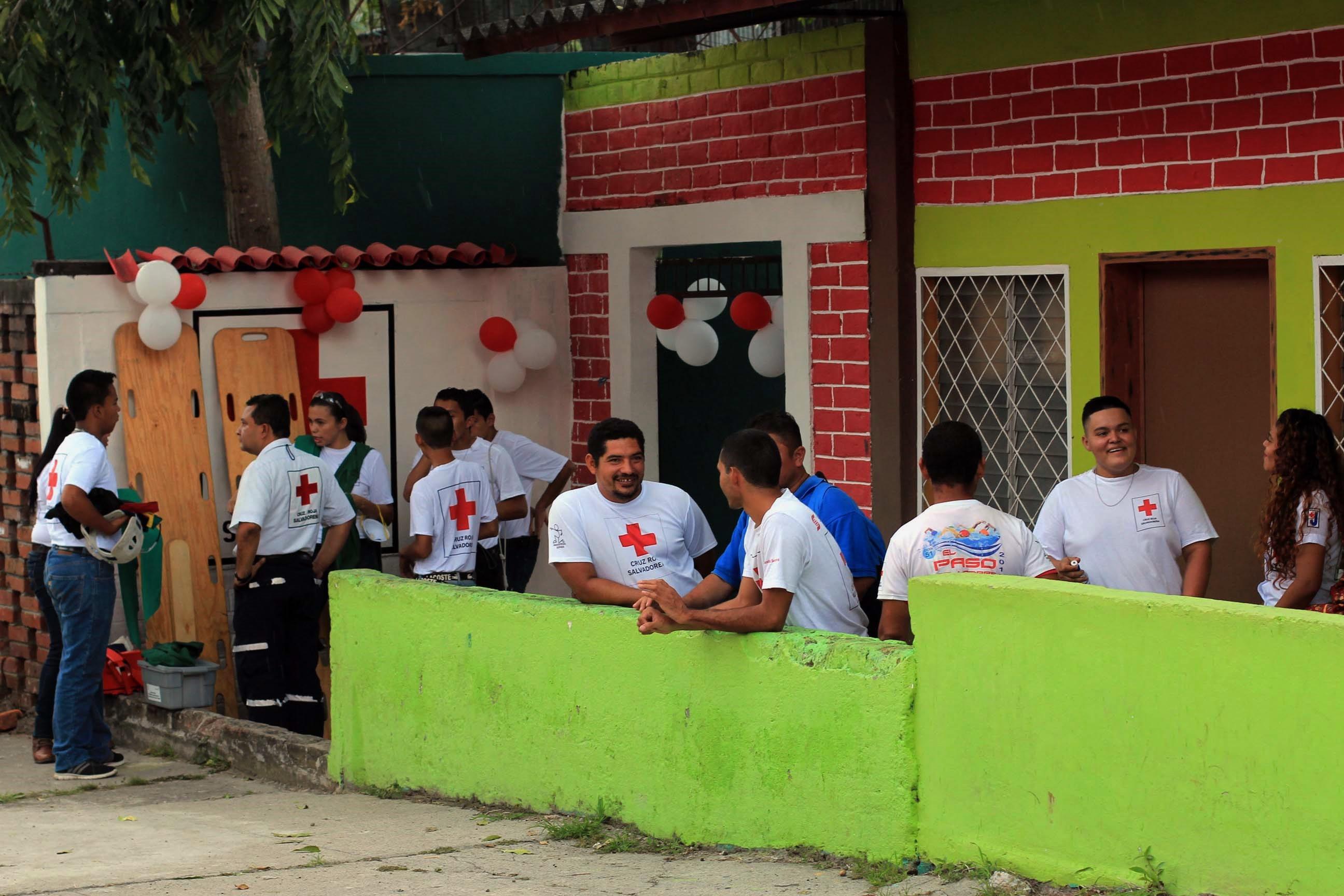Guadalupe ya cuenta con Puesto de Socorro de Cruz Roja Salvadoreña