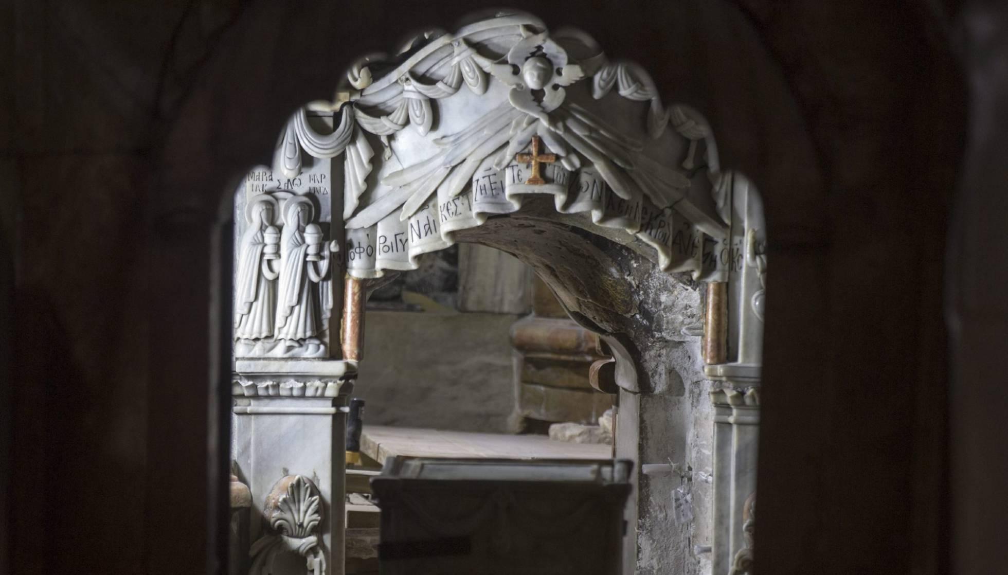 El sepulcro de Jesucristo abierto por primera vez en siglos
