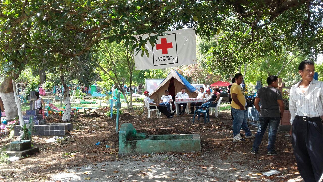 Diferentes instituciones prestan servicio de asistencia humanitaria y seguridad a los santanecos