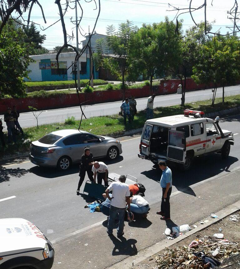 Octogenaria es atropellada por vehículo en el bulevar Nicolás Salume