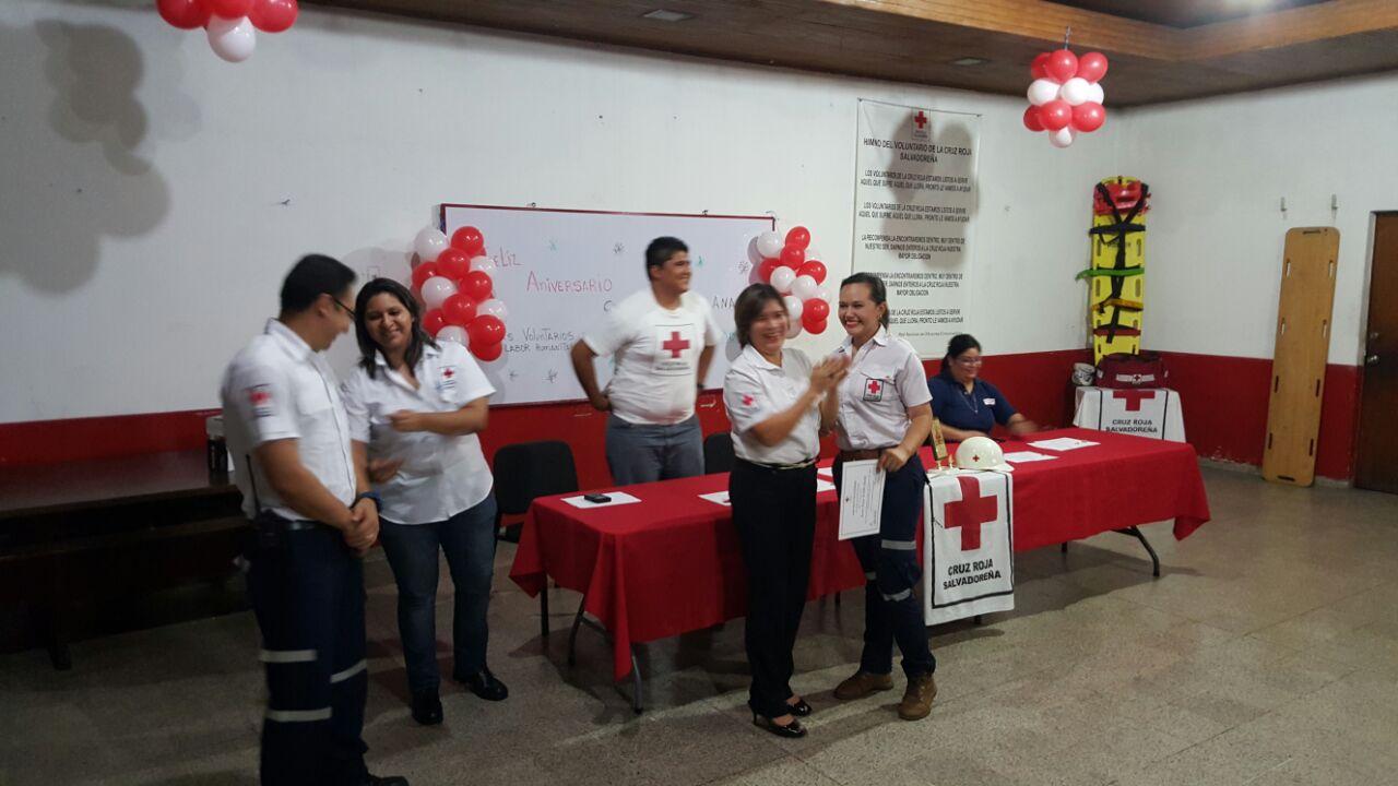Cruz Roja seccional Santa Ana, celebró 60 años de labor humanitaria