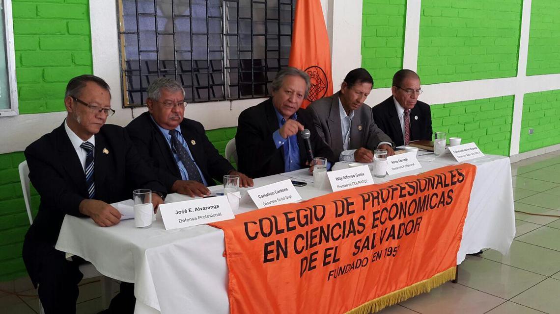 COLPROCE pide a Asamblea aprobar ley de cobro y establecer impuesto al patrimonio