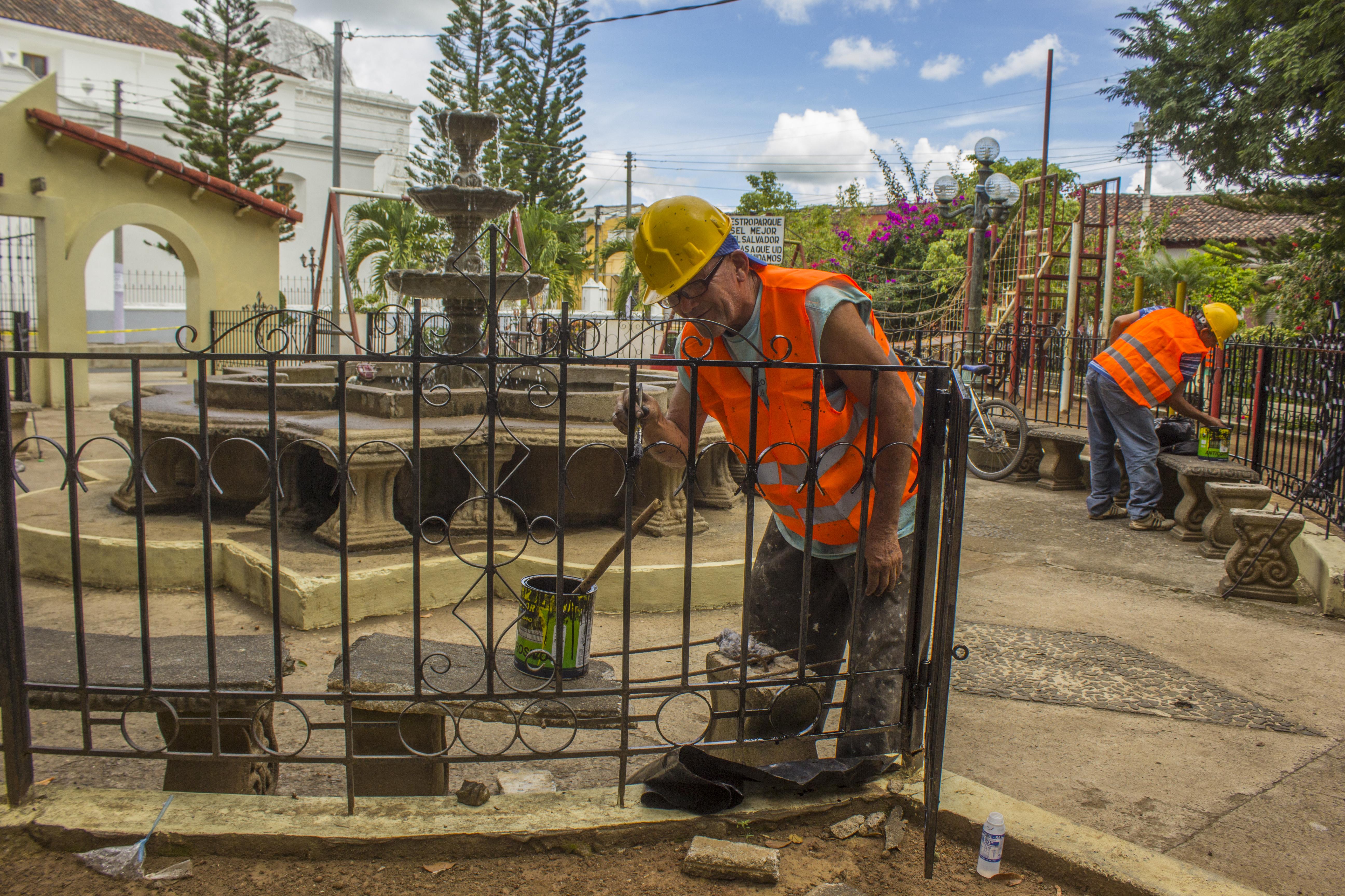 Parques del municipio de Chalchuapa serán remodelados