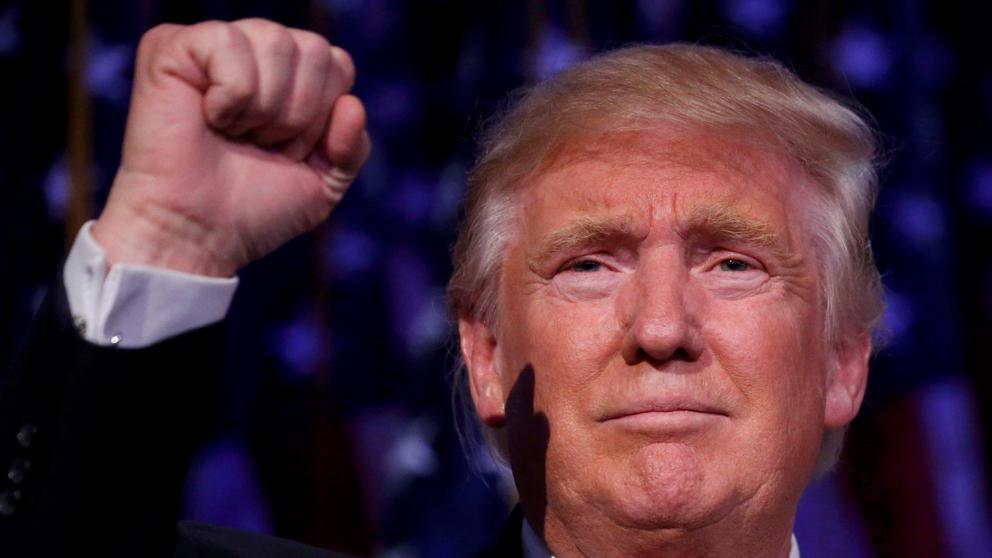 Este es el discurso de victoria de Donald Trump.