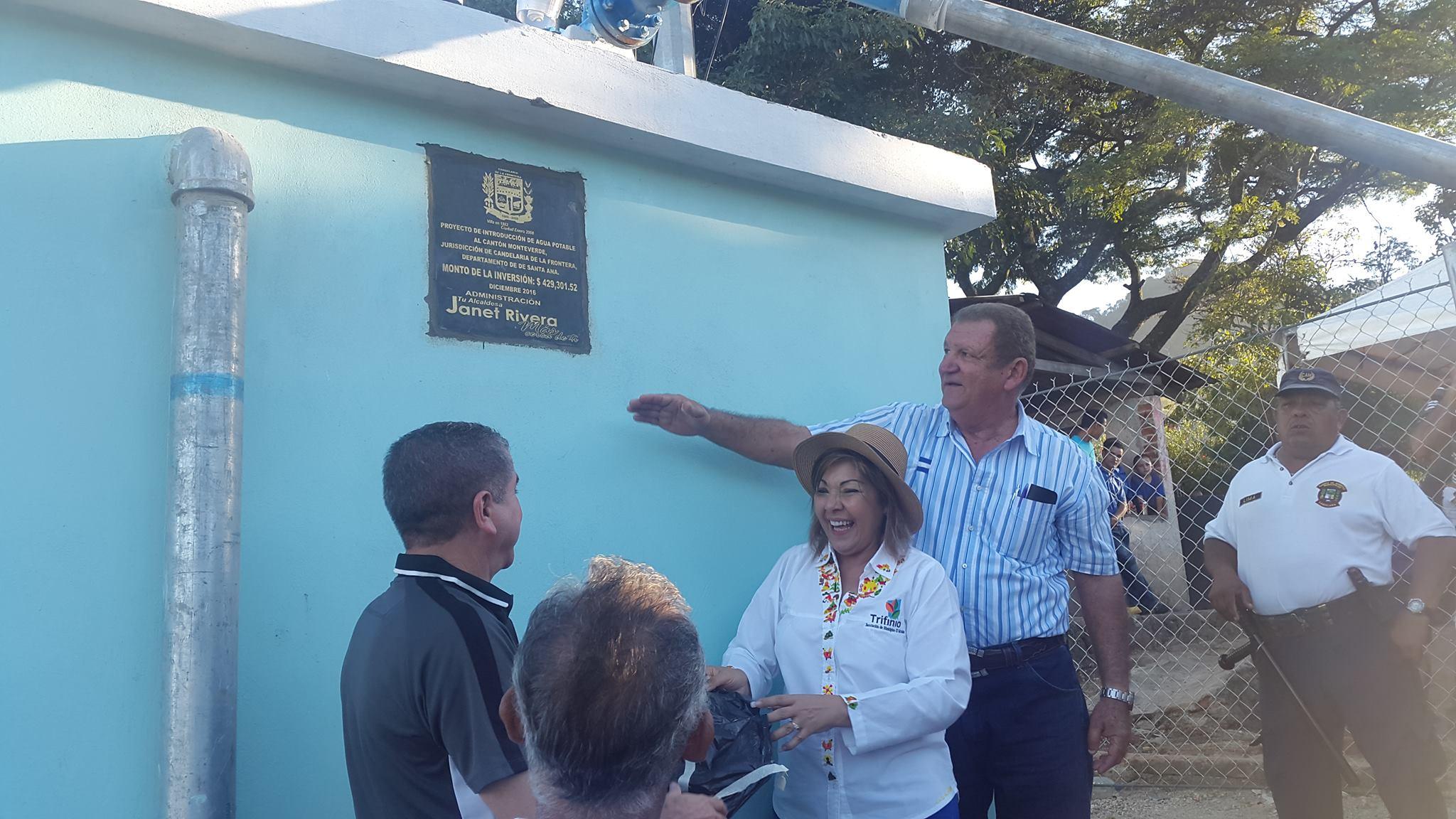 Más de 500 familias son beneficiadas con proyecto de agua potable en Candelaria de la Frontera