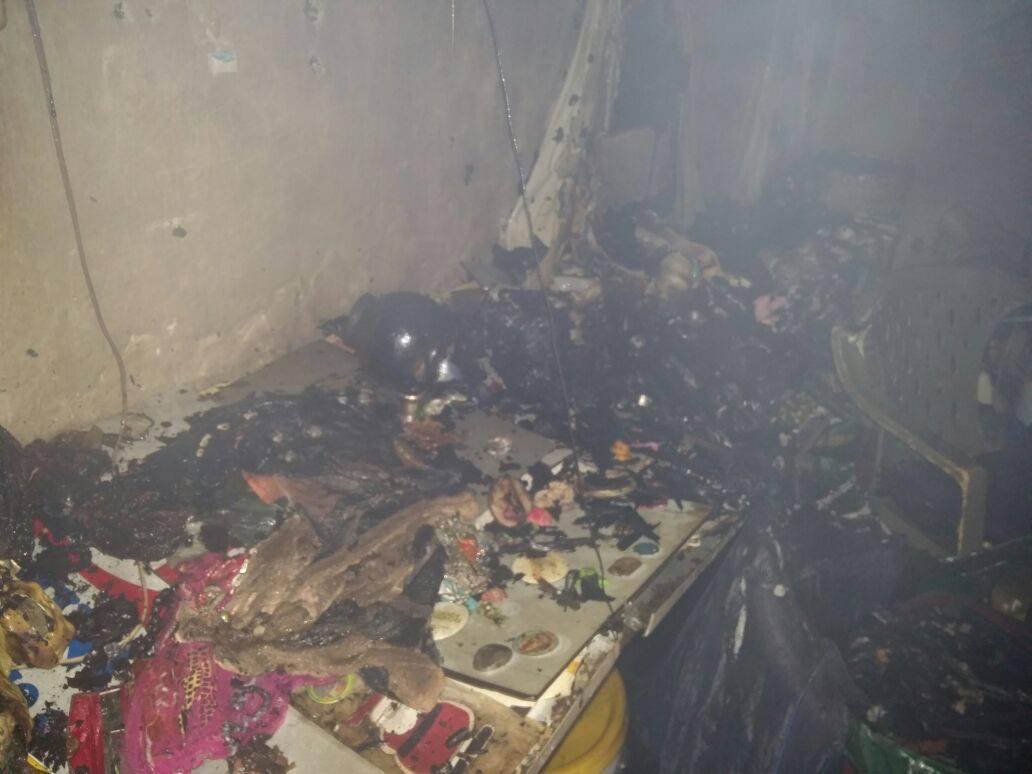 Incendio en San Sebastián Salitrillo dejó un menor con graves quemaduras