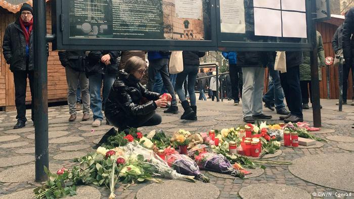 El día después del atentado en Berlin (Breitscheidplatz)