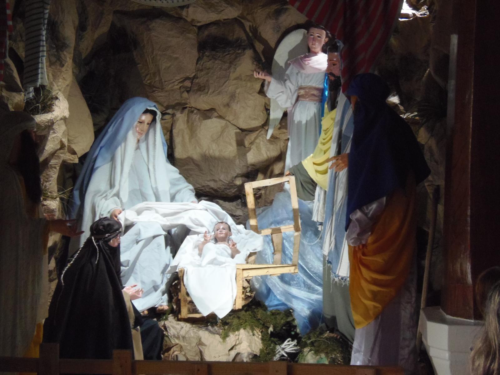 Santanecos mantienen viva la tradición de los nacimientos