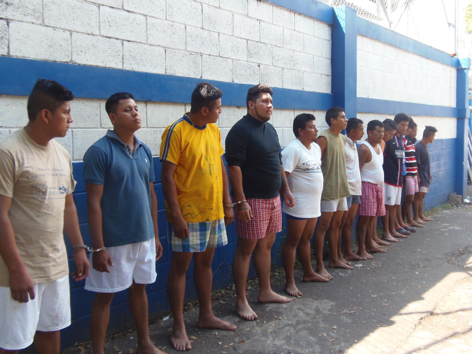 40 miembros de organizaciones terroristas fueron capturados en Sonsonate