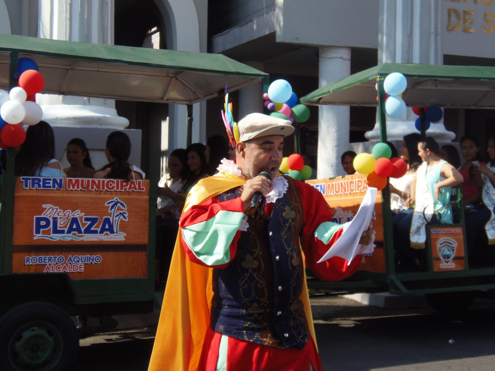 La tradición del pregón en Sonsonate