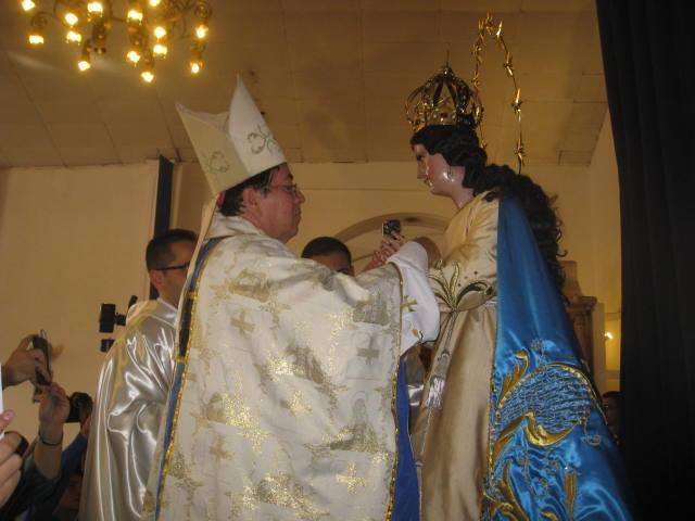 Atiquizayenses consagran imagen de la Inmaculada Concepción de María