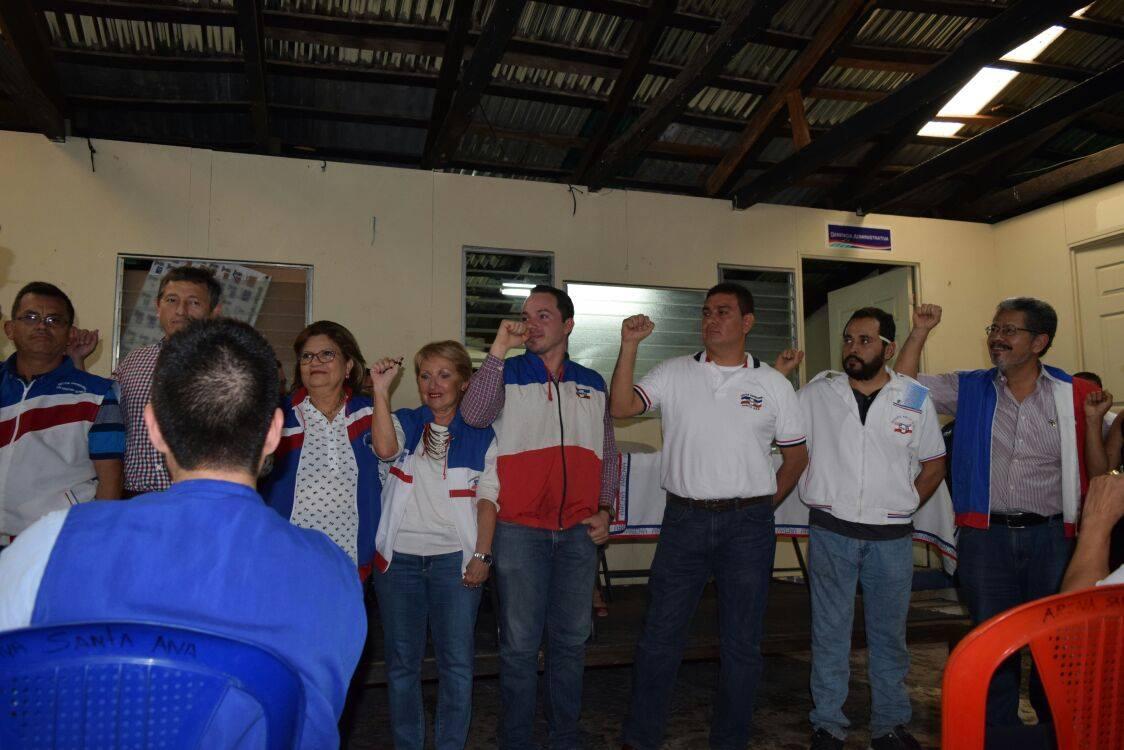 ARENA juramentó a la nueva directiva departamental de Santa Ana