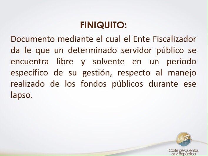 CORTE DE CUENTAS CONTINÚA JORNADA DE EMPODERAMIENTO FISCALIZADOR EN EL OCCIDENTE DEL PAÍS DICTANDO CONFERENCIA SOBRE EL FINIQUITO