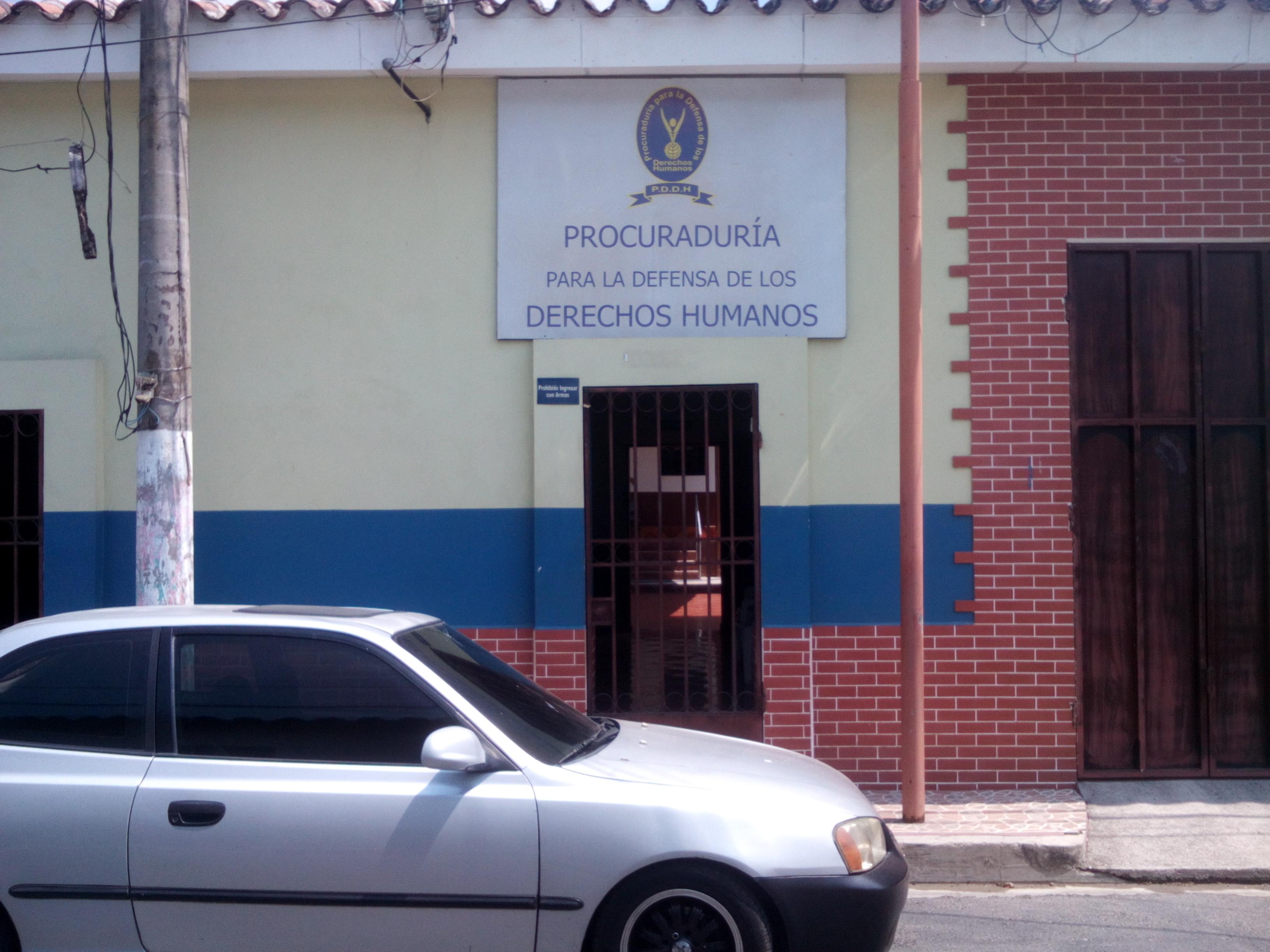 Por falta de presupuesto cerraran delegaciones de la Procuraduria de la PDDH en Metapán