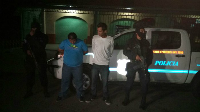 Dos hombres fueron detenidos en La Hachadura con 39 paquetes de marihuana