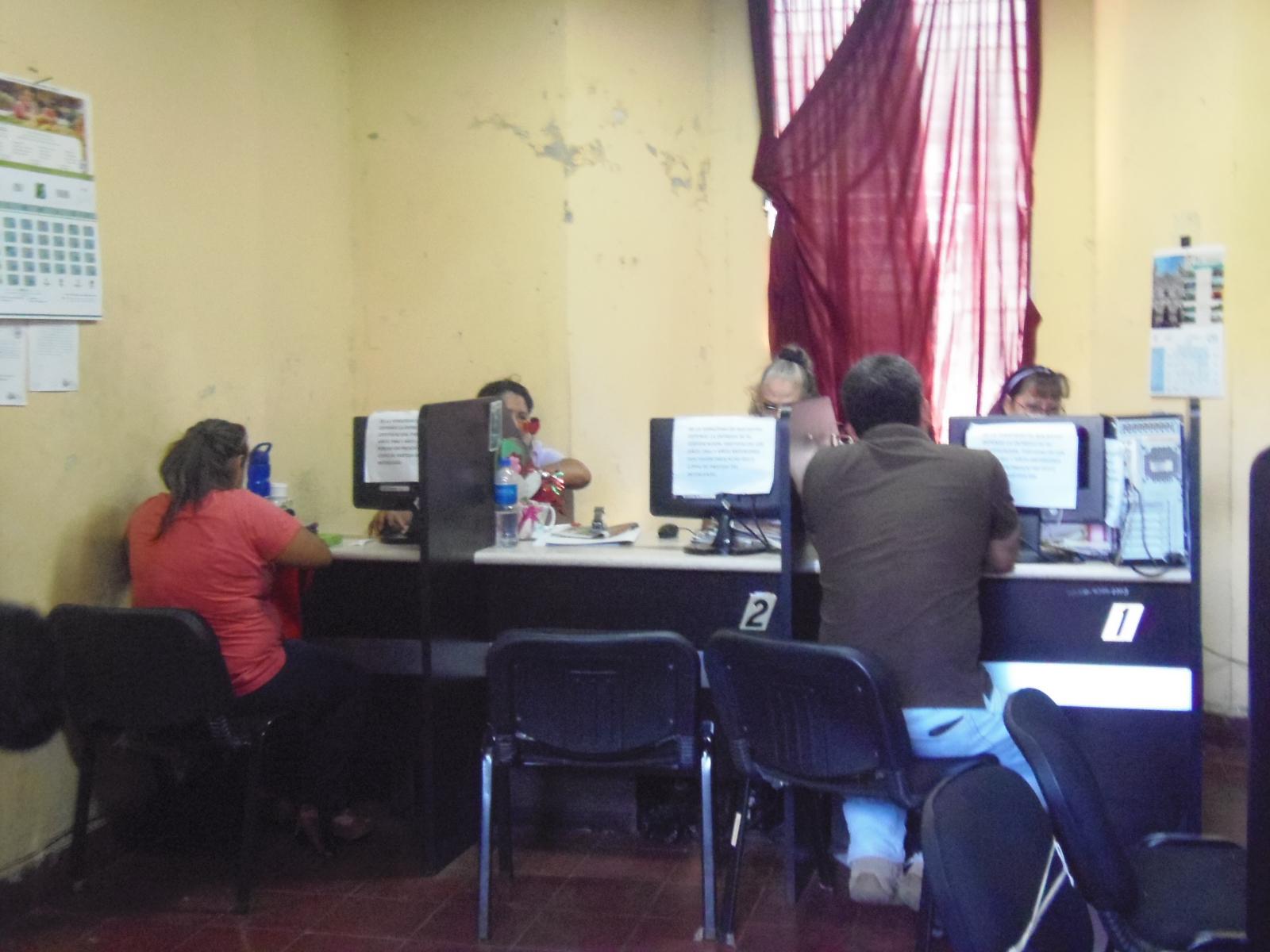 Reanudan labores administrativas en la comuna santaneca