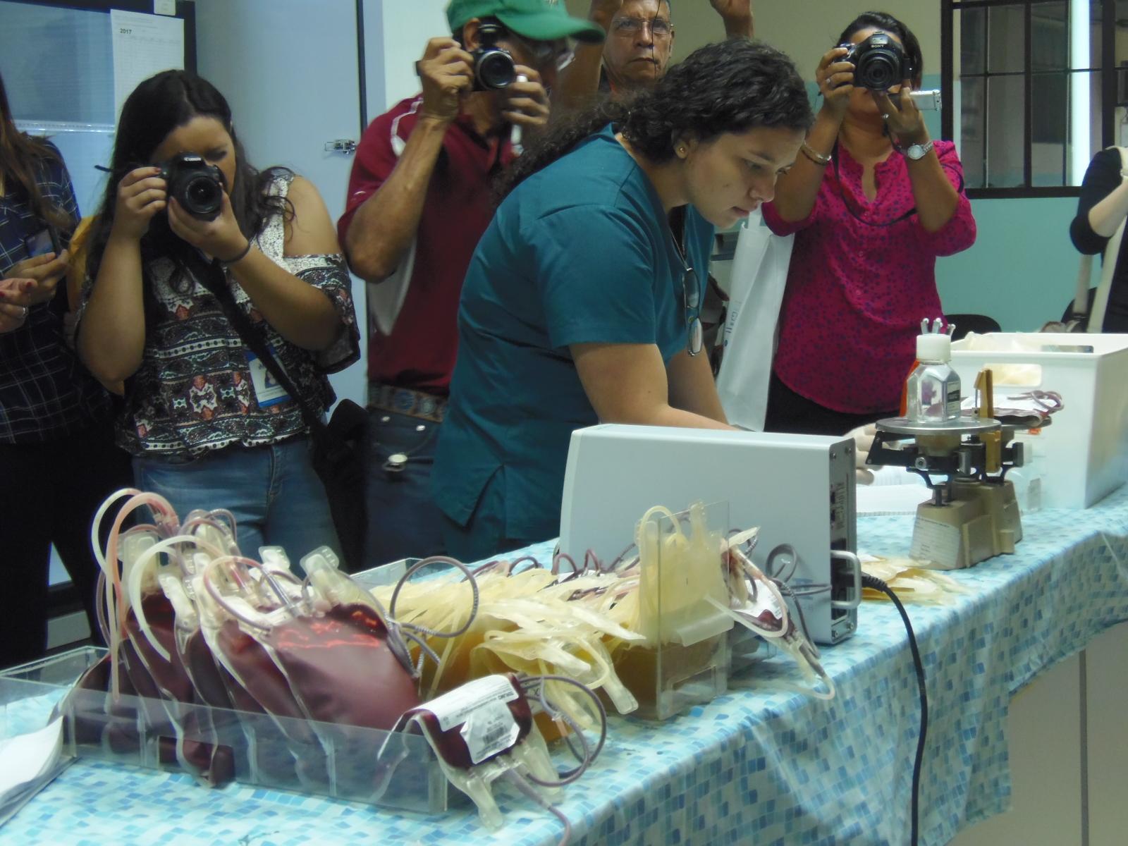 Embajada de Japón apoya obra de construcción del nuevo banco de sangre de Santa Ana