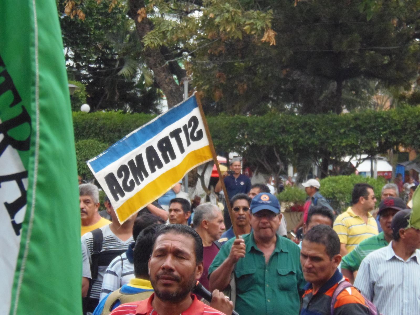 Siguen las acciones de protesta por parte del sindicato SITRAMSA