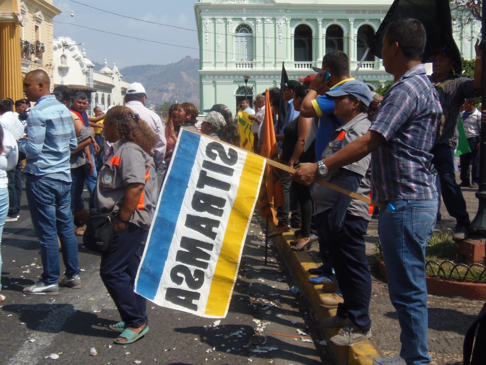 Las acciones de protesta por parte de SITRAMSA, no terminan