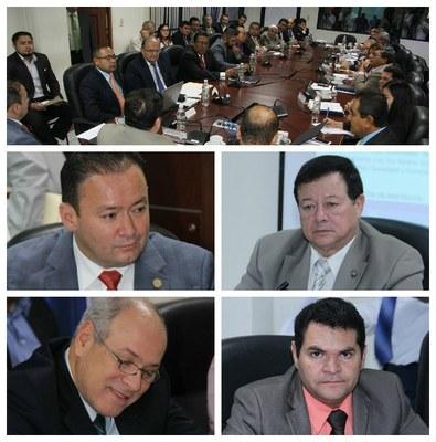 Parlamentarios comprometidos con fortalecer la seguridad ciudadana