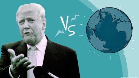 Donald Trump vs El Mundo