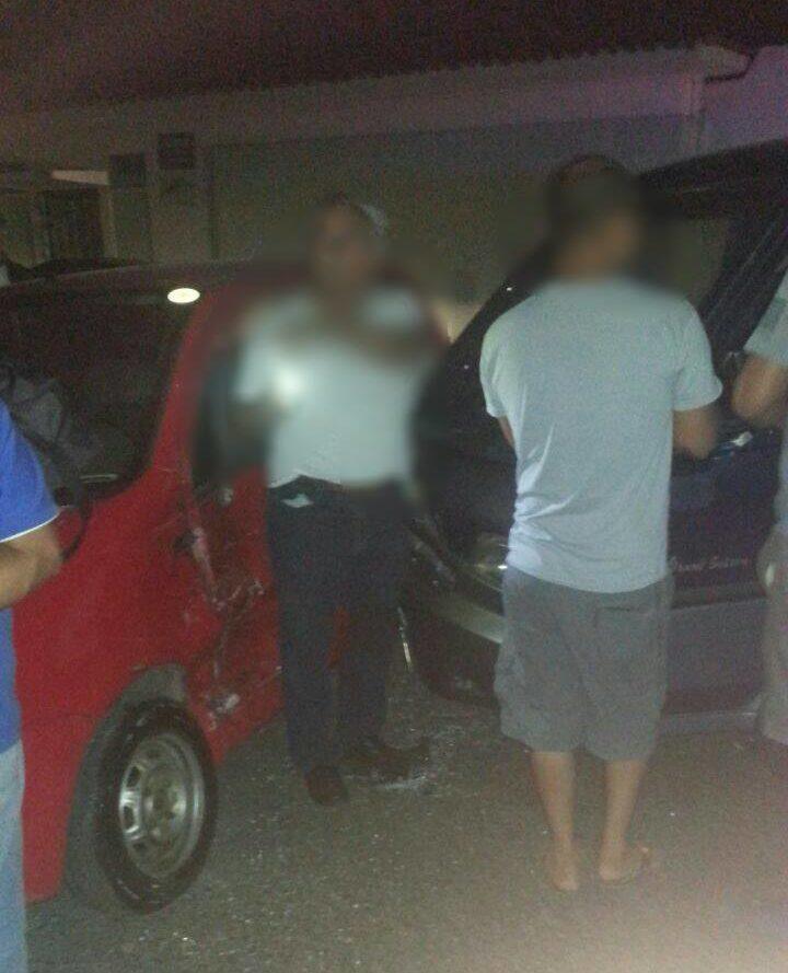Cruz Verde atiende tres accidentes de tránsito en la tarde del día domingo