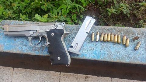 PNC Incauta arma de fuego a miembro de estructuras terroristas