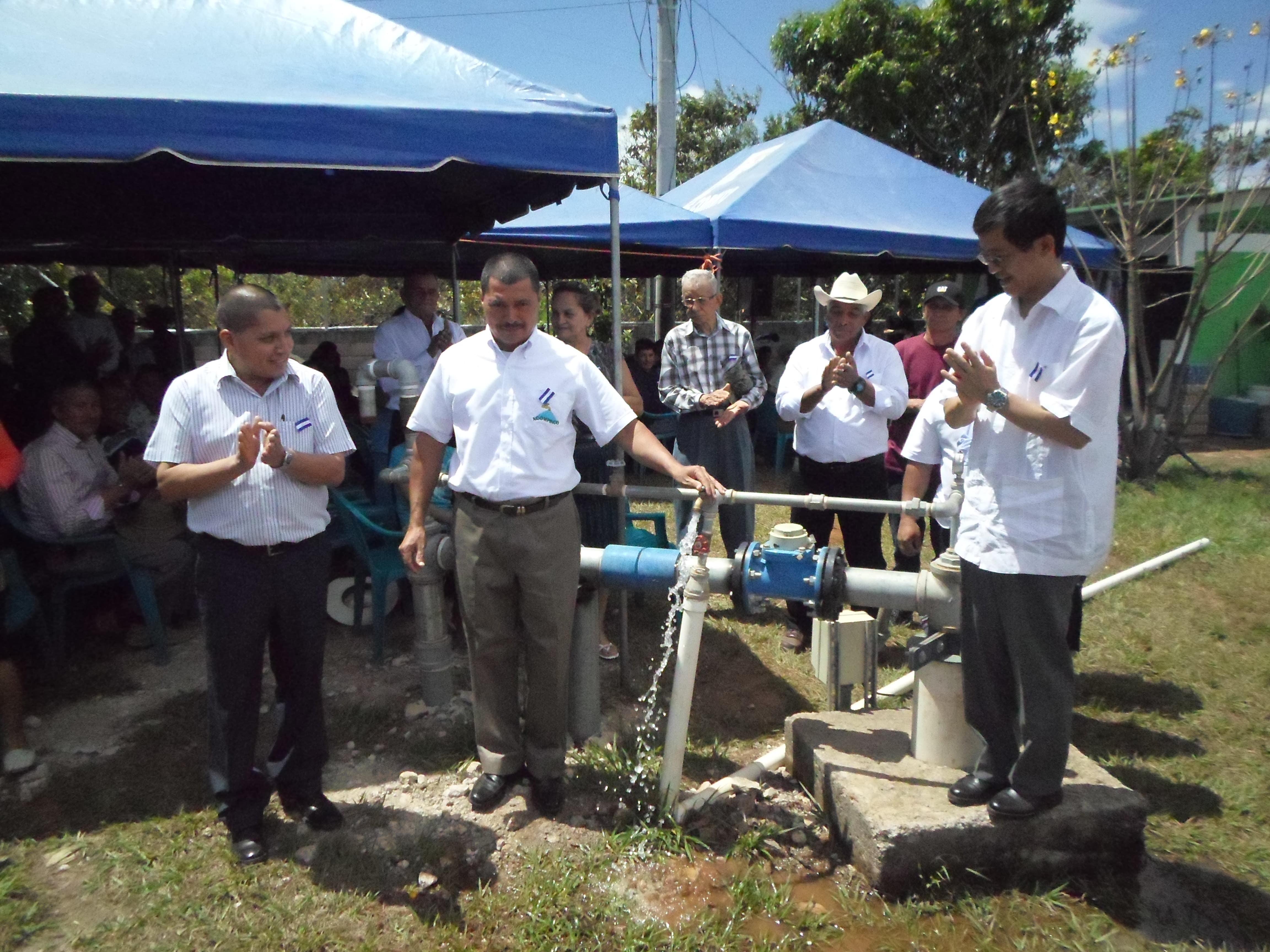 Japón mejora el acceso al agua potable en el Municipio de Corinto
