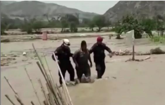 El temporal se extiende por Perú con deslizamientos e inundaciones