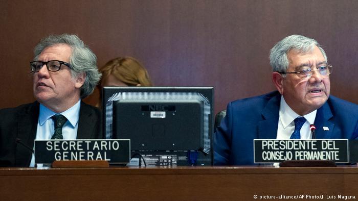 """OEA denuncia en Venezuela """"alteración inconstitucional del orden democrático"""""""