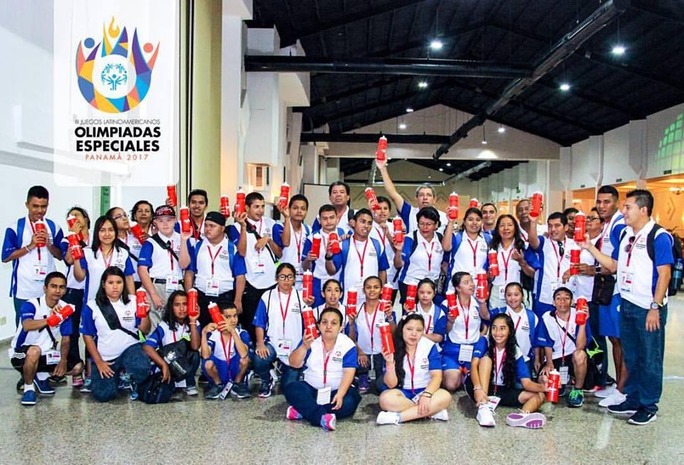 Atletas salvadoreños de Olimpíadas Especiales ya están en Panamá