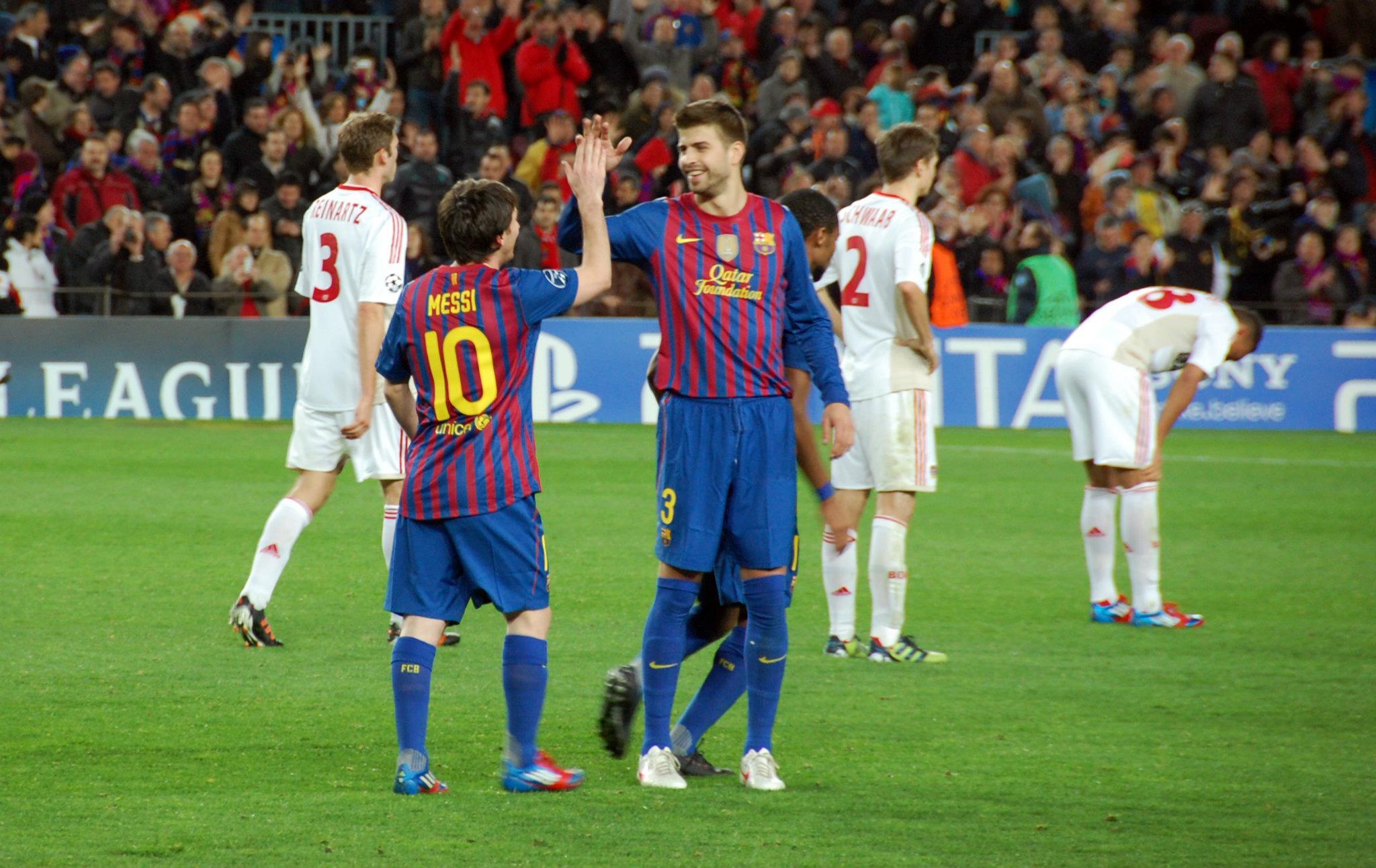 EL F.C Barcelona quedo eliminado de la Champions