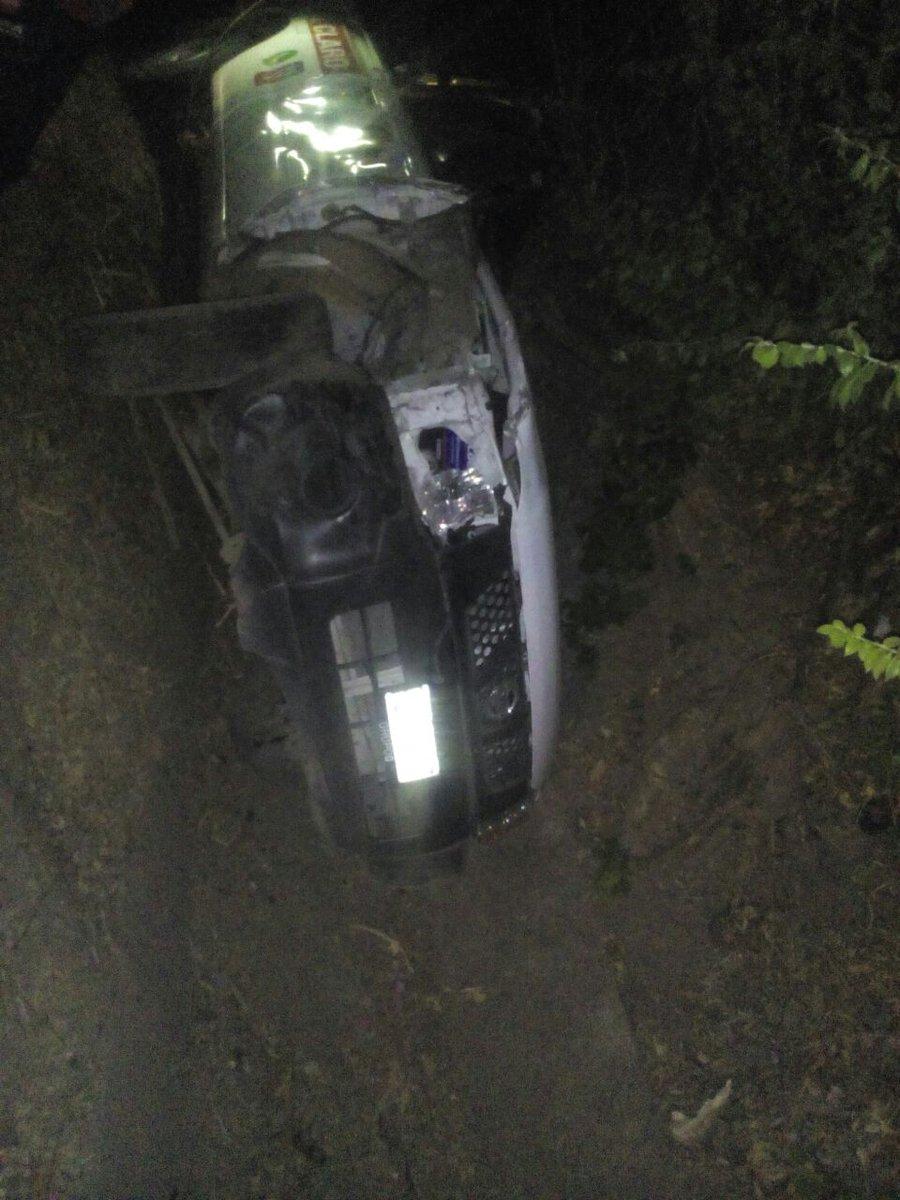Nuevo accidente vehicular carretera a Metapán