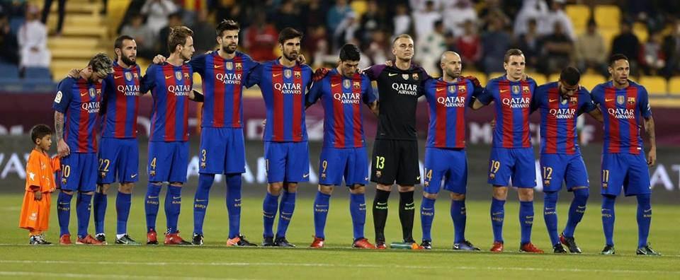 El F.C Barcelona derrota al Sevilla en su lucha por la Liga