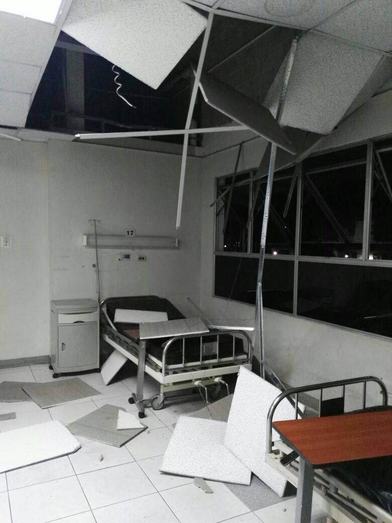 Un día despues del enjambre sismico