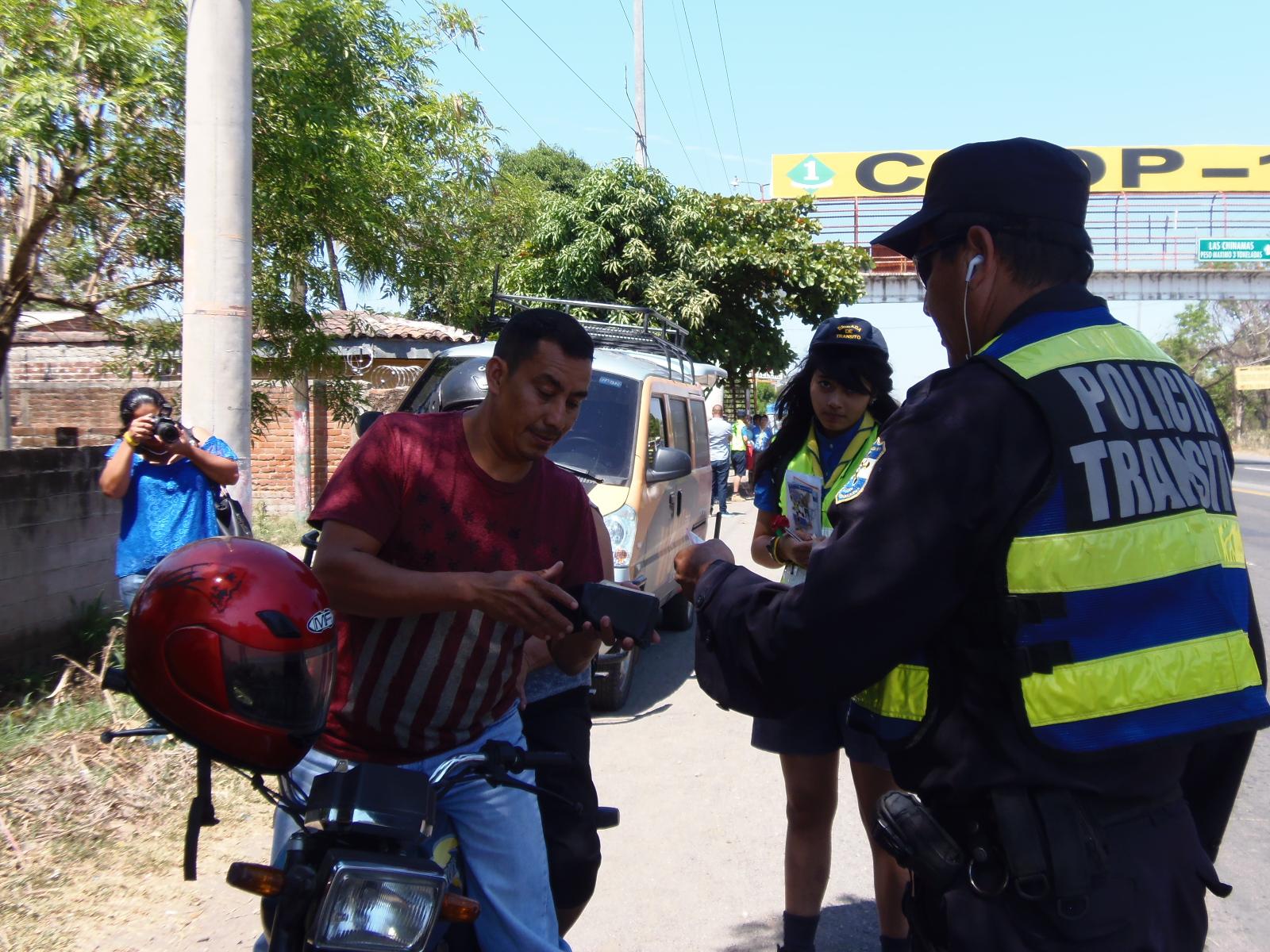 Realizan brigada infantil de tránsito terrestre en período vacacional