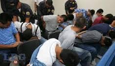 FGR Santa Ana logra condena para ocho pandilleros de la 18 por Robo Agravado