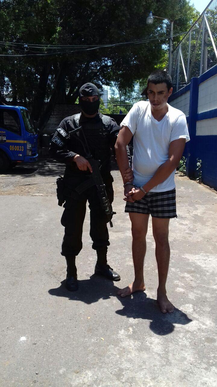 Capturan a miembro de pandillas en Sonsonate