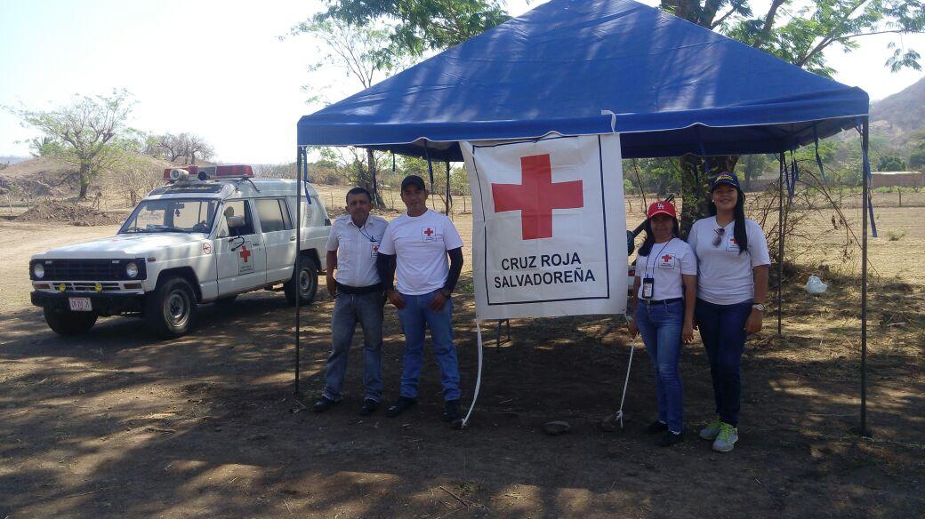 Cruz Roja en acción durante Semana Santa